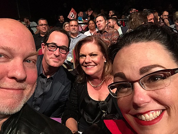 Some of the judges: Me, Sam the Cooking Guy, and Shelly Dunn (of David, Shelly, and Chainsaw)