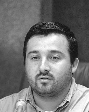 Nick Inzunza was sworn in as mayor of National City on December 5, 2002.