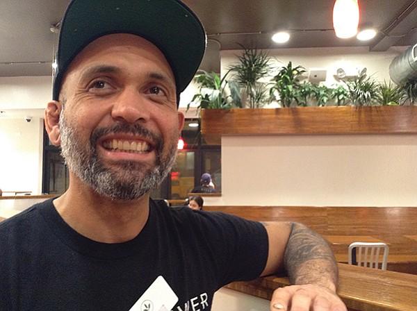 Chef Miguel Durazo