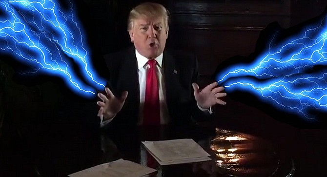 """Once your training is complete, you will be able to unleash the full power of the Trump! You will no longer be a young apprentice, but a full Trump master! Everything about this lawsuit that has transpired has done so according to my design. Trump University is quite safe from Curiel's pitiful little band."""