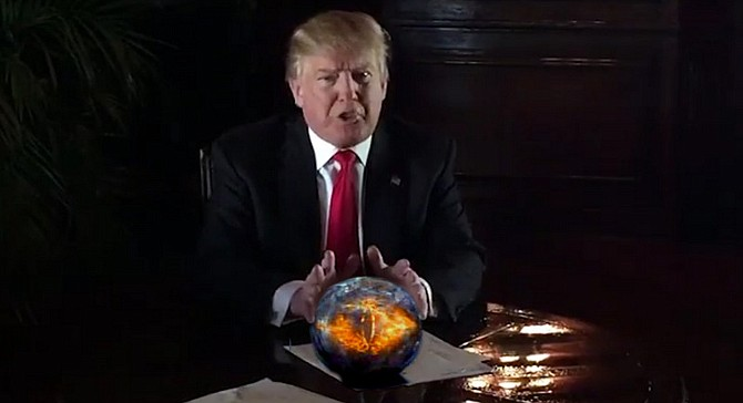 """""""Trump University provides secret knowledge to real estate investors that will help them conquer the market. They will see what others cannot, and their condo towers will cast dark shadows over their competitors' projects. But if they foolishly resist my patented techniques, it's no surprise that they suffer financial destruction."""""""