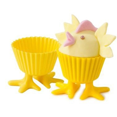 Chick Feet cupcake liners
