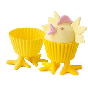 Chick Feet cupcake liners