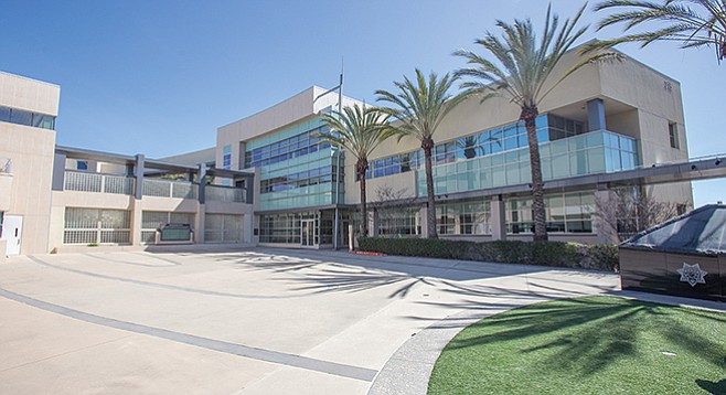 Built in 2004 at the height of Chula Vista's development, the facility's cost was forecast to be paid for by the general fund and developers' fees. - Image by Andy Boyd