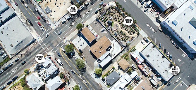 East Village aerial photo - Image by Andy Boyd and Chris Brake