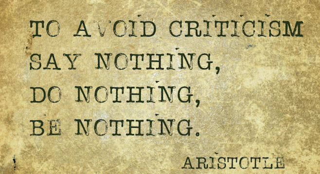 aristotle as a critic Critical sites | biographical sites | other sites still need more criticism about aristotle aristotle's political philosophy page an extraordinary collection of links to sites about aristotle, his life, and his works.