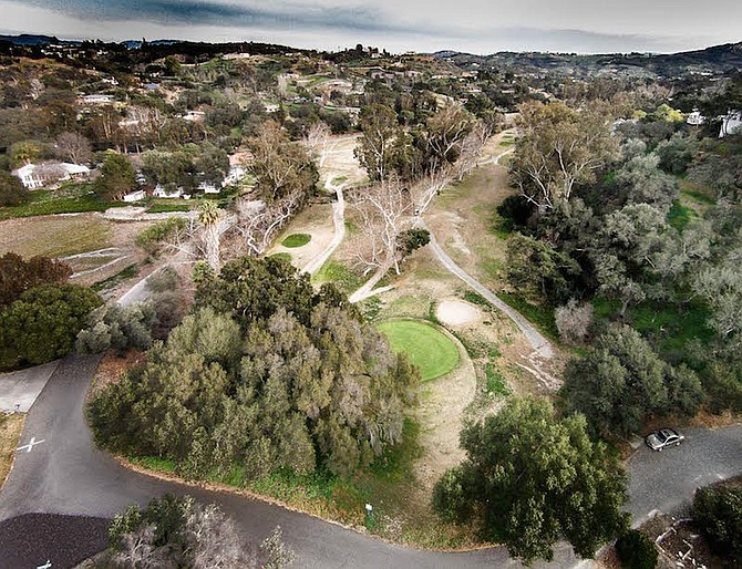 """""""The greens are better than any of the greens in the valley."""" Fallbrook Golf Course on February 8"""