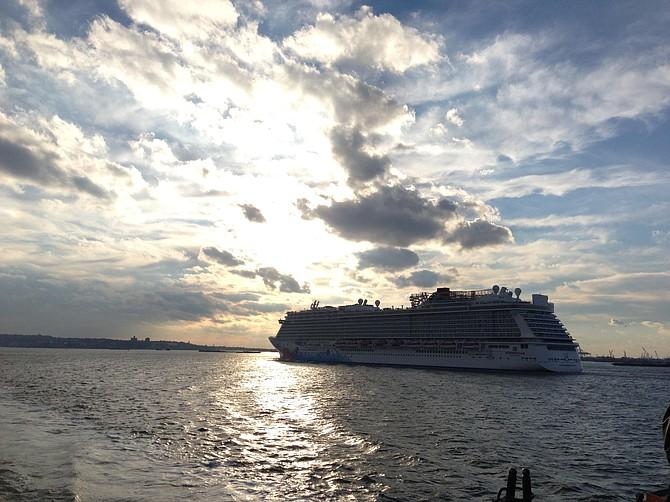 Staten Island Ferry journey: New York City adventures.   -Marilyn Kelly (Miles of Moxie)  milesofmoxie@gmail.com