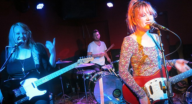 Sister act Bleached Welcome the Worms at Casbah on Wednesday!