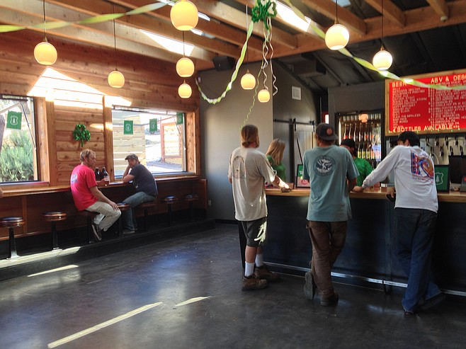 A new look for what used to be Alpine Beer Company Pub — now a dedicated tasting room and growler fill location.