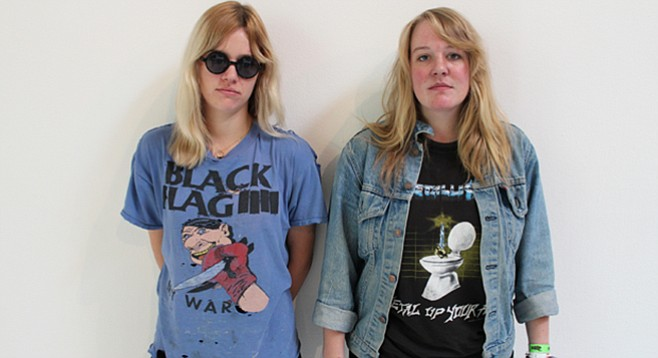 After Mika Miko, the Clavin sisters launched Bleached and this week will release their darkest disc, Welcome the Worms.