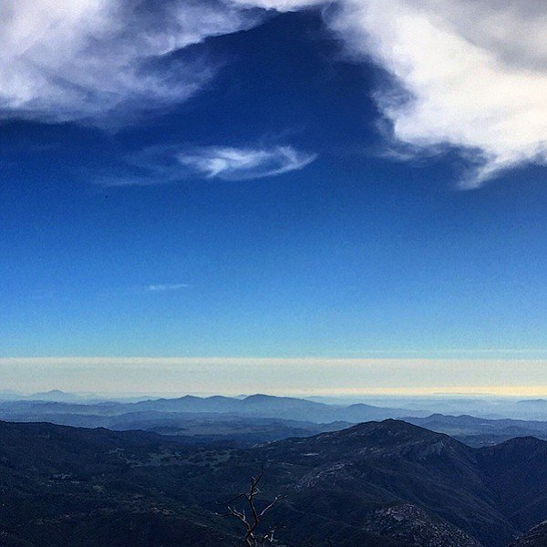View from Palomar Mountain