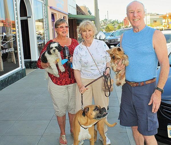 Gayle Catas, Peg Tischer-Keeley, and Shawn Crapeau, La Mesa
