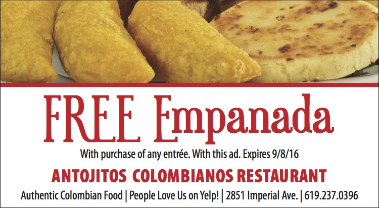 Antojitos Colombianos coupon
