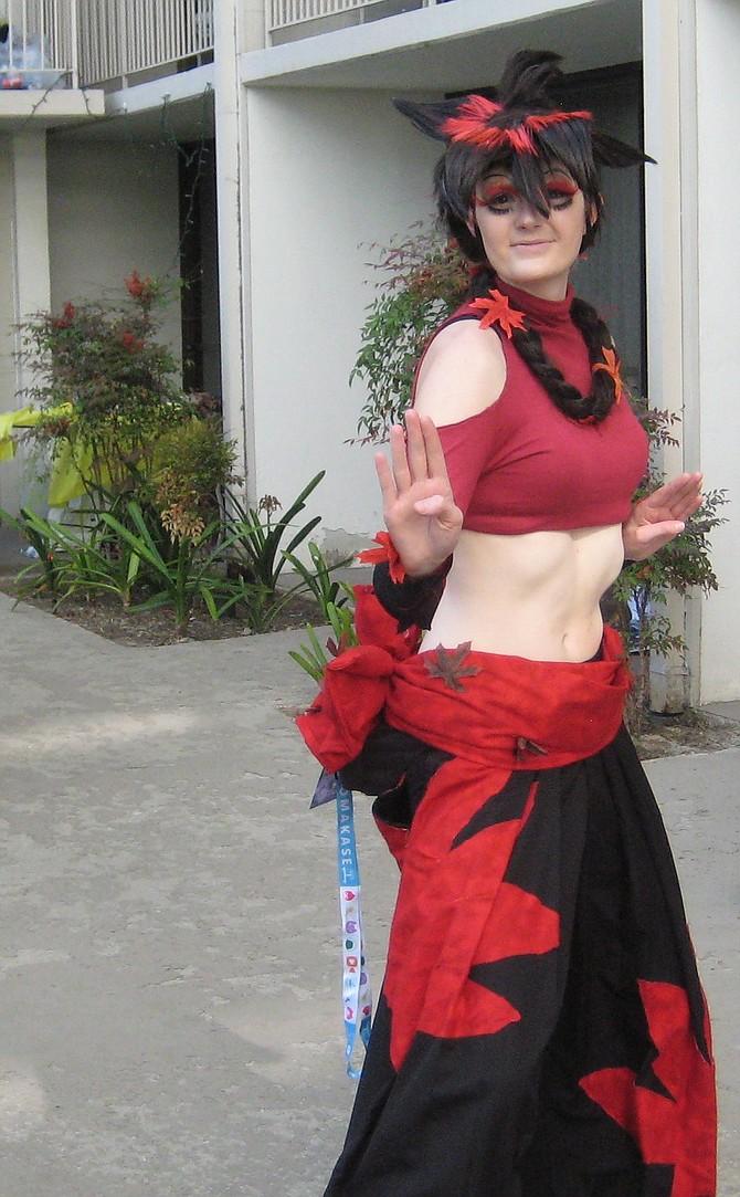 Shichika from Katanagatari