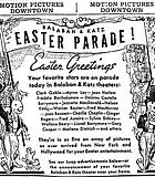 "Balaban & Katz highlight the Easter parade of stars gracing their screens. ""The Chicago Tribune,"" ..."