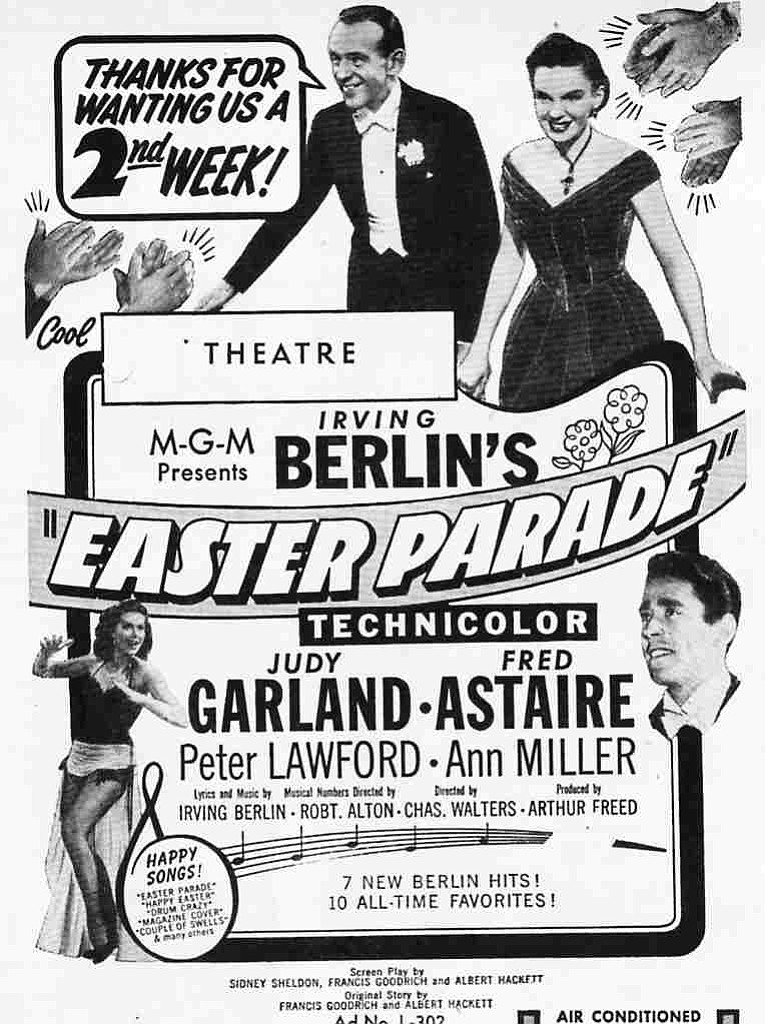 """""""Easter Parade"""" was the biggest grossing film of 1948."""