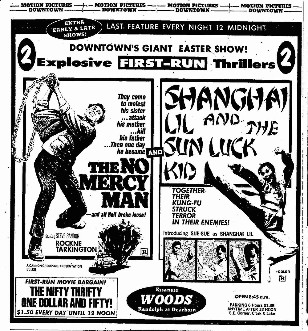 """Every bunny was kung-fu fighting! """"Chicago Tribune,"""" March 30, 1975."""