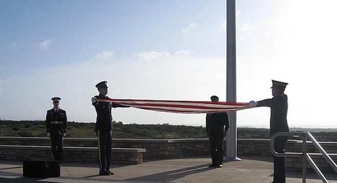 Folding of the flag