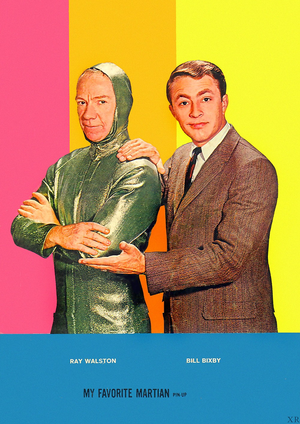 Ray Walston and Bill Bixby in My Favorite Martian, an unexpected hit of the 1963 TV season and the first in a long line of supernatural sitcoms.
