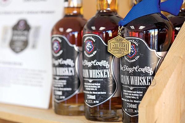 Liberty Call's four-grain whiskey