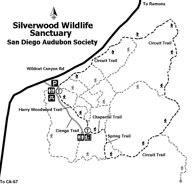 Silverwood trail map
