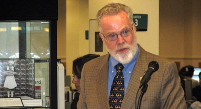 Former SDSU president Stephen Weber