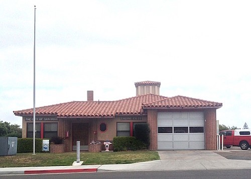 Fire station number 22 on Catalina Boulevard