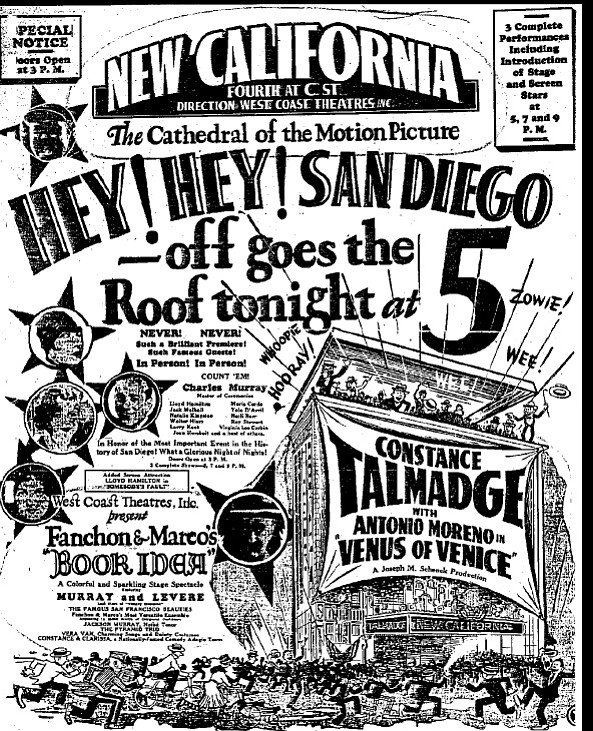 Grand opening poster