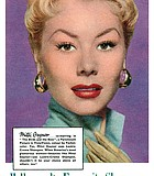 San Diego's own, Mitzi Gaynor, uses Hollywood's favourite shampoo, Lustre-Creme with Lanolin. Shouldn't you? 1956.
