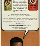 They say this Duke Hair Sheen is for bad mothers. Richard Roundtree for Supreme Beauty ...