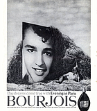 """Sal Mineo for Evening in a Paris Alley. """"Motion Picture,"""" October 1961."""