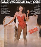 """Earth girls are """"freezy."""" The statuesque Ms. Geena Davis in a 1983 ad for A&M ..."""