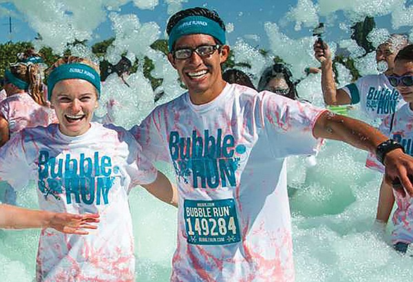 Bubble Run runners