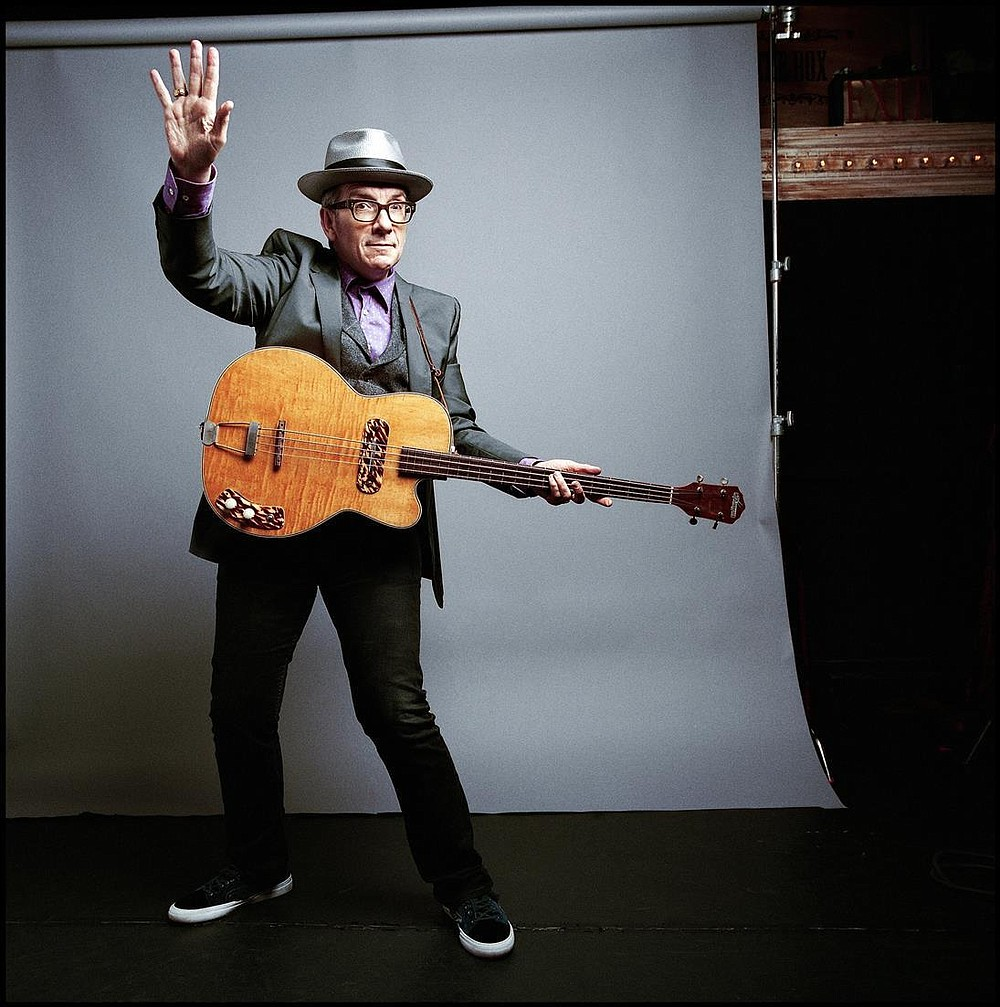 British singer/songwriter Elvis Costello rolls solo into the Balboa Theatre downtown Thursday night.