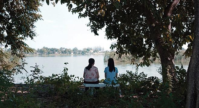 Jenjira Pongpas and Jarinpattra Rueangram star in Apichatpong Weerasethakul's new film