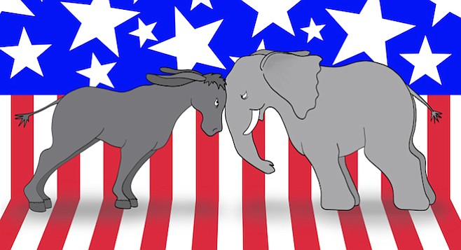 It'll be a head-to-head presidential race come November - Image by WildLivingArts