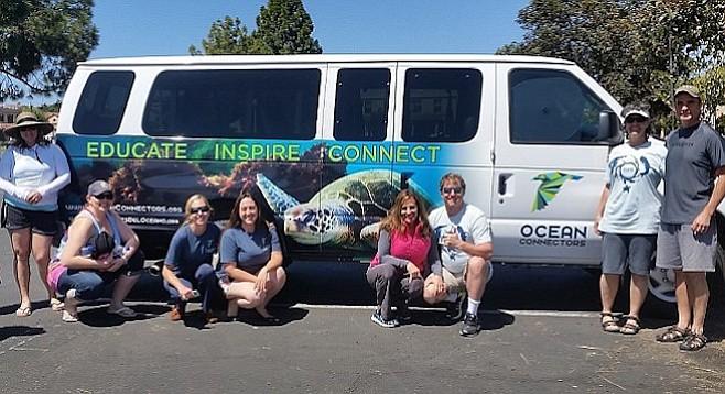 Ocean Connectors' first public eco tour