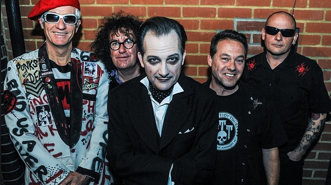 Goth-punk pioneers the Damned bring the creepy cabaret to Belly Up on Tuesday!