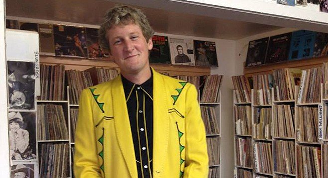 Folk Art Records owner Brandan Boyle wishes every day was Record Store Day.