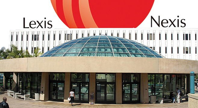The impending loss of research database LexisNexis looms large over SDSU's Love Library.