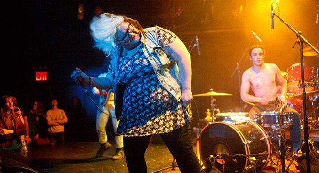 Out of a Philadelphia basement: Sheer Mag makes it to Coachella — and Casbah on Monday night!