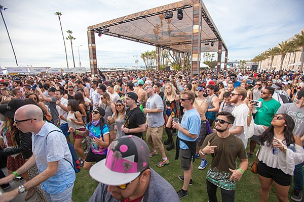 CRSSD Festival saw 15,000 attendees both days at Waterfront Park.