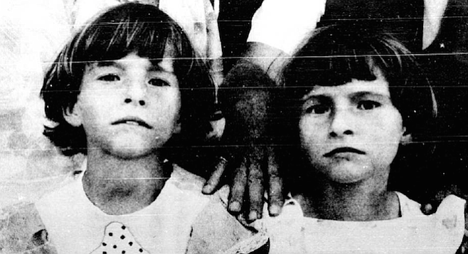 """The Kennedy twins. """"They were two little girls who have absolutely no idea why they're so interesting to the world."""" - Image by Maureen Gosling"""