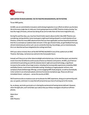 AMC press release.