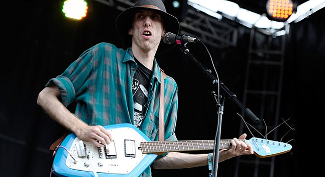 In from the fading frontier of Coachella, indie-rock Atlanta band Deerhunter takes the stage at the Observatory Friday night!