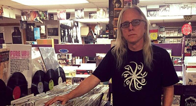 "Spin Records proprietor Ken Kosta: ""People are attracted to the old-school record-store vibe. We're not a neat and clean mall store."""