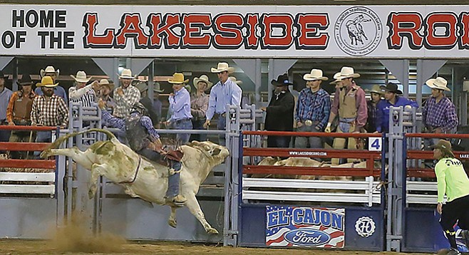 Giddy up to the Lakeside Rodeo this weekend