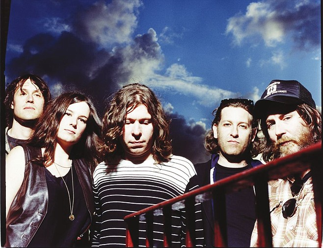 Hard-rocking Canada band Black Mountain's at Casbah on Tuesday!