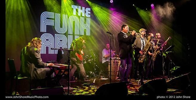 D.C. dance band Funk Ark lands at Soda Bar on Sunday.